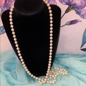 Sarah Coventry Pearl Necklace